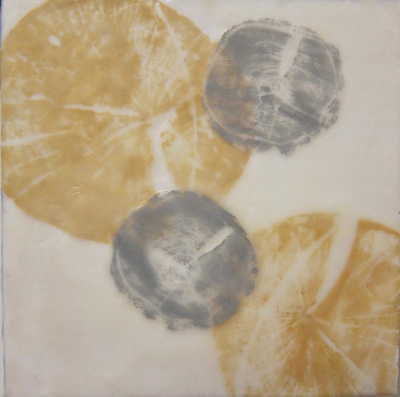 Tree Memories Yellow/Gray